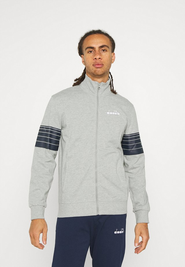 TRACKSUIT CORE - Tuta - light middle grey melange