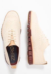 Cole Haan - ZEROGRAND STITCHLITE OXFORD - Chaussures à lacets - brazilian sand/fired brick - 1