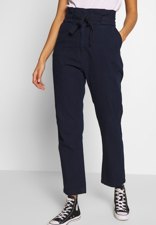 PAPERBAG - Trousers - sartho blue