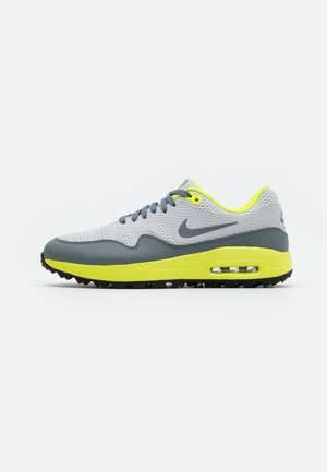AIR MAX 1 G - Golf shoes - grey fog/smoke grey/photon dust