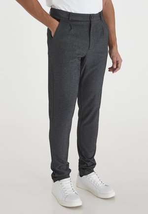 CASUAL FRIDAY PEER - Trousers - dark grey melange