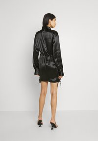 Gina Tricot - SIDNEY SHIRT DRESS - Cocktail dress / Party dress - black - 2