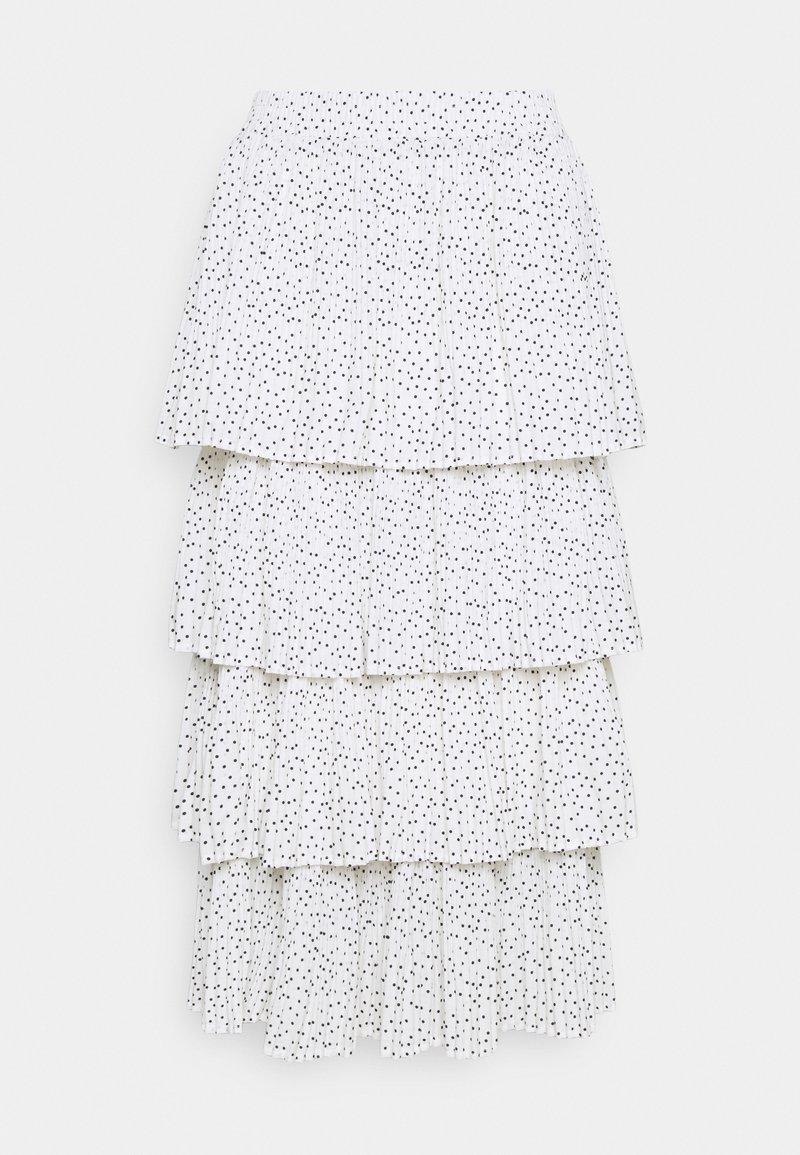 RIANI - Áčková sukně - white
