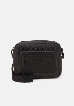 CAMERA BAG BLEND MONO UNISEX - Across body bag - black