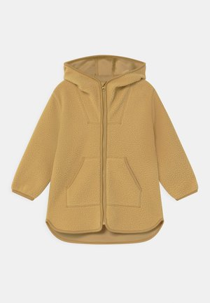 Zip-up hoodie - dusty yellow