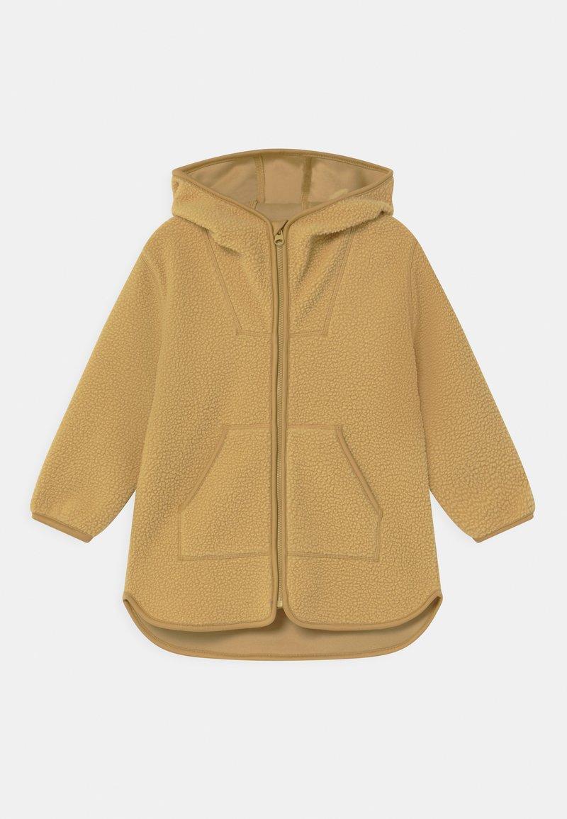 ARKET - Zip-up hoodie - dusty yellow