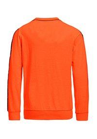WE Fashion - MET 3D-OPDRUK EN TAPE - Langærmede T-shirts - bright orange - 2