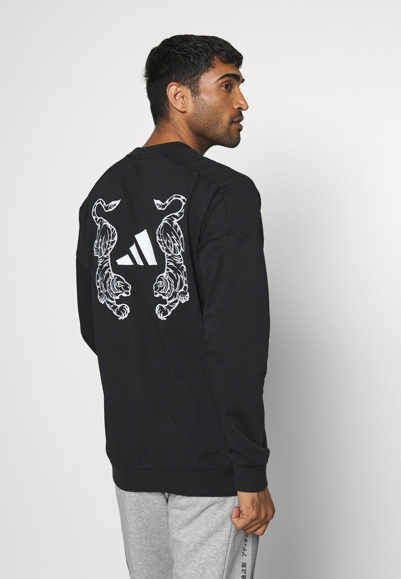 adidas Performance - TIGER CREW - Sweatshirt - black