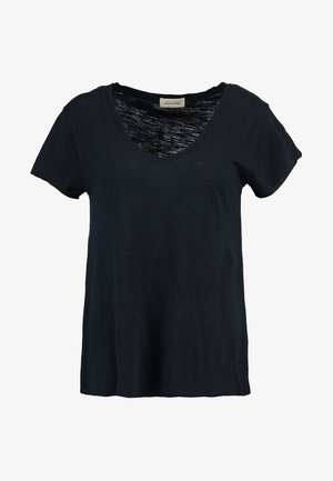 JACKSONVILLE V NECK TEE - Basic T-shirt - navy