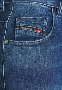 Diesel - SLANDY HIGH - Jeans Skinny Fit - indigo - 5