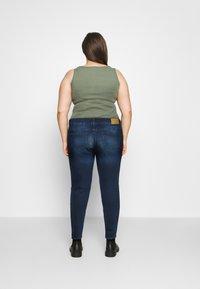Noisy May Curve - NMLUCY  - Jeans Skinny Fit - dark blue denim - 2