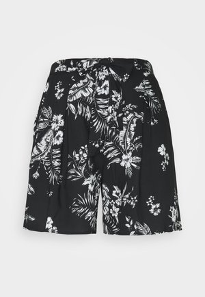 TALL TIE WAIST  - Shorts - black