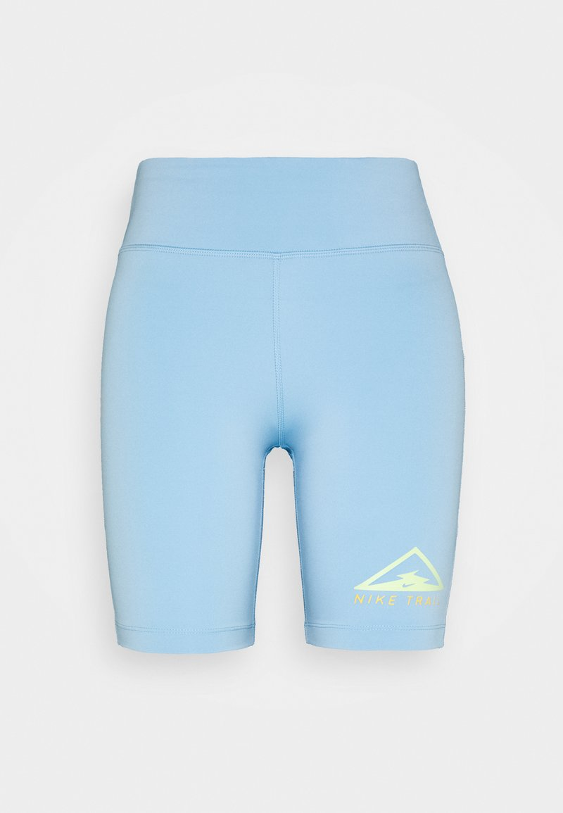 Nike Performance - FAST SHORT TRAIL - Legging - psychic blue/reflective silver