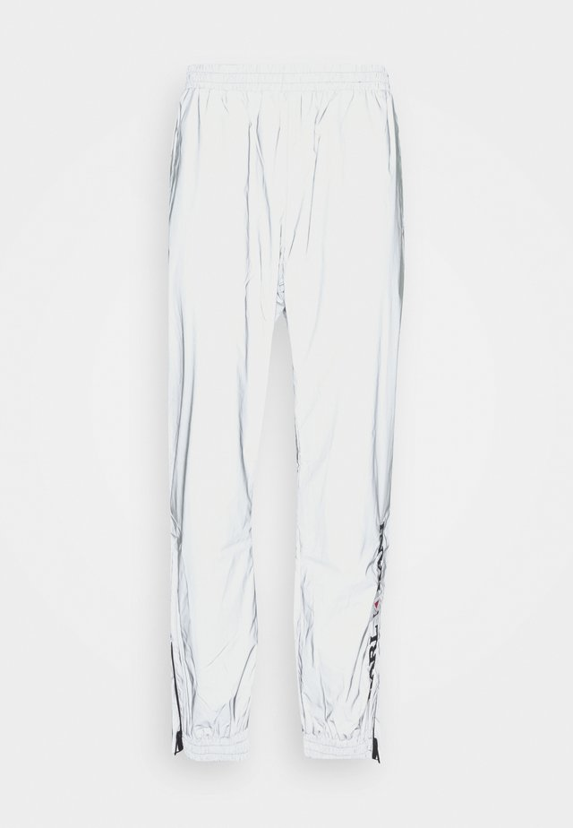 RETRO REFLECTIVE TRACKPANTS - Joggebukse - silver