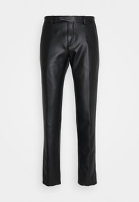 Twisted Tailor - SYD TROUSERS - Kangashousut - black - 0