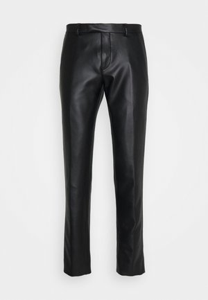 SYD TROUSERS - Tygbyxor - black