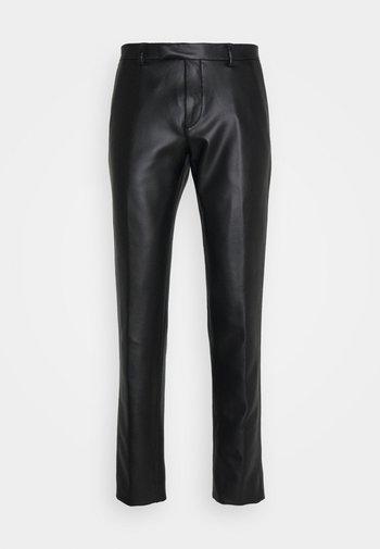 SYD TROUSERS - Kalhoty - black