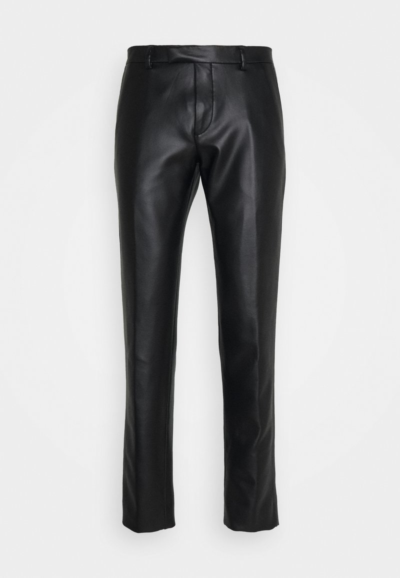 Twisted Tailor - SYD TROUSERS - Kangashousut - black