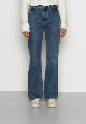 NINETTE - Flared Jeans - medium stone