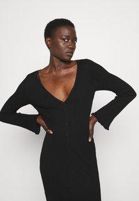 M Missoni - LONG DRESS - Jumper dress - black beauty - 4