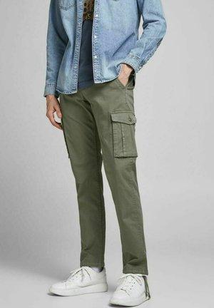 DRAKE ZACK - Cargo trousers - dusty olive