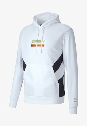 THE UNITY COLLECTION - Jersey con capucha - puma white