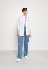 Vero Moda - Jednoduché triko - pastel lilac - 1