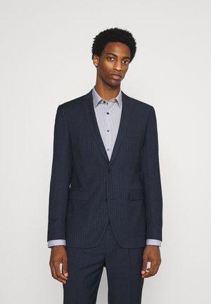 PINSTRIPE - Kostym - dark blue