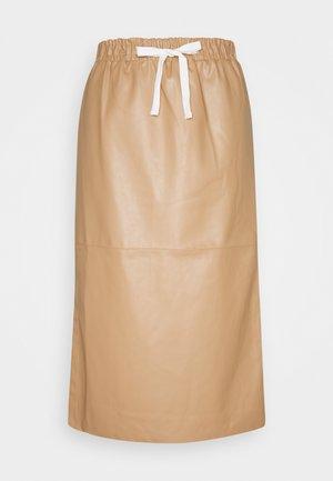 MARIE MIDI SKIRT - Pencil skirt - camel
