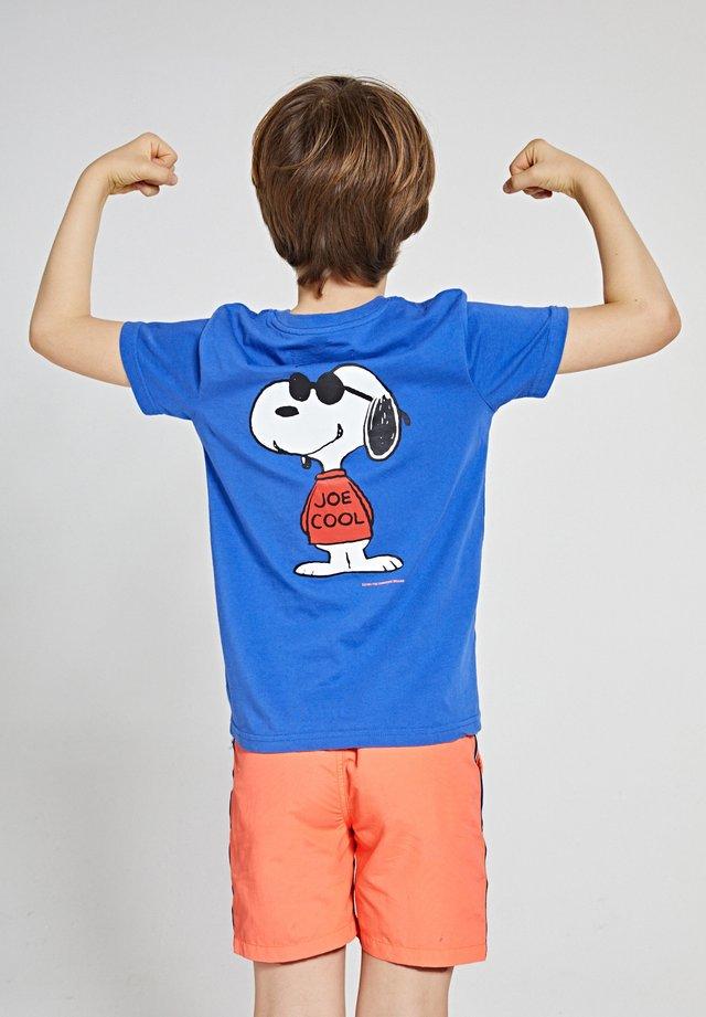 T-shirt imprimé - indigo blue
