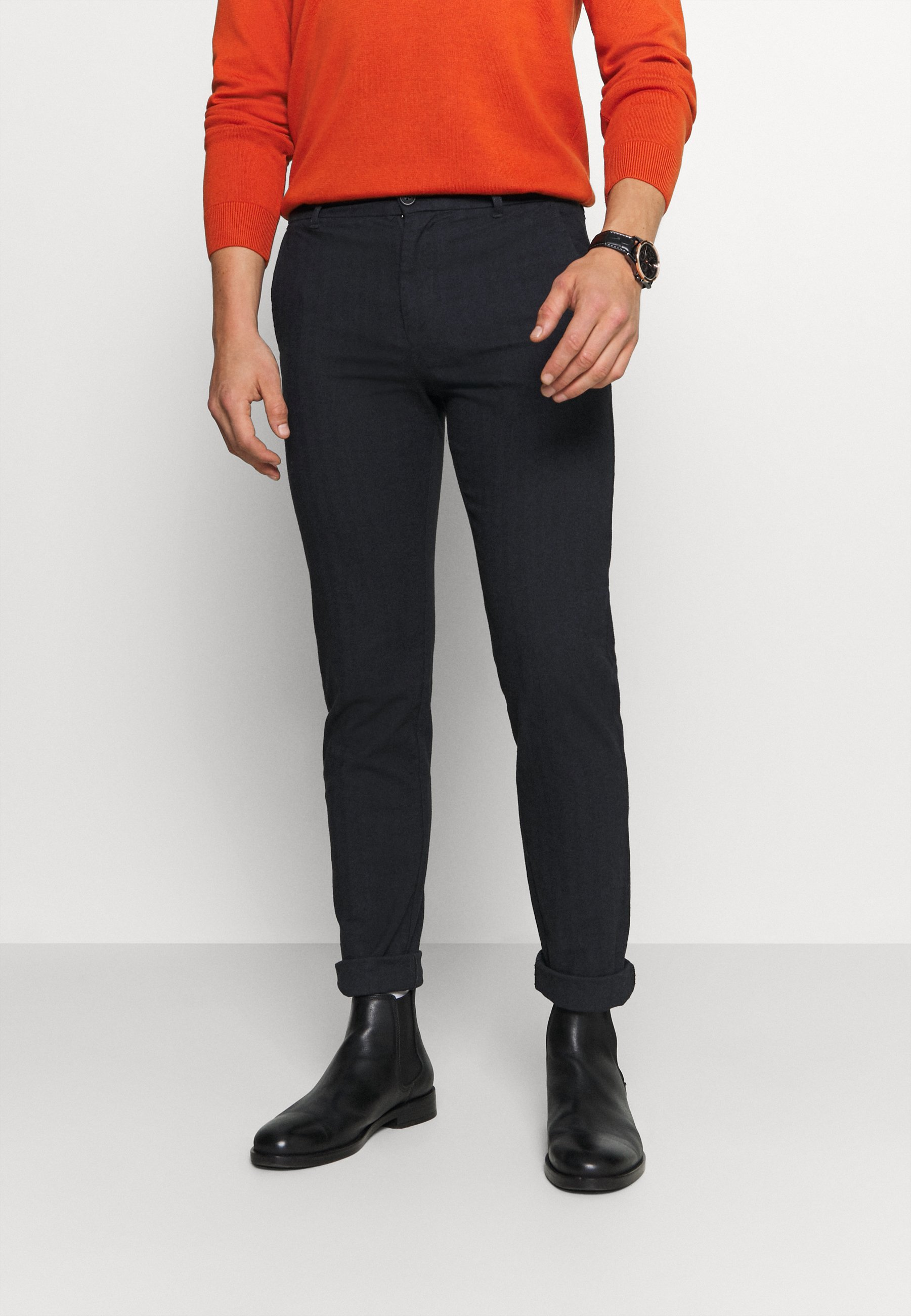 Men SLHSLIM ARVAL PANTS - Trousers