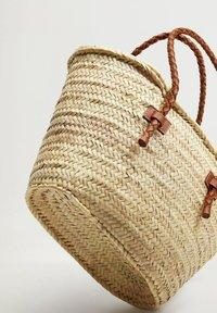 Mango - OVALO - Handtasche - mellanbrun - 3