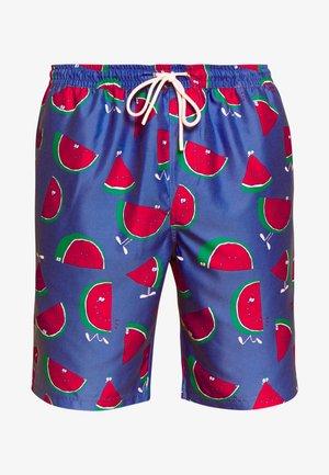 MELONS - Swimming shorts - royal
