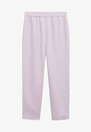 CINTURA ELÁSTICA - Trousers - morado claro pastel