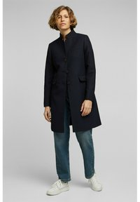 Esprit - Classic coat - navy - 4