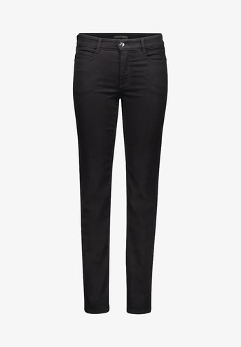 ANGELA - Slim fit jeans - black