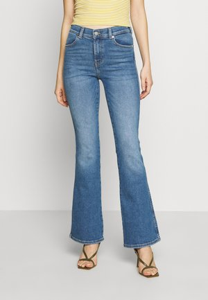 SONIQ - Bootcut jeans - westcoast sky blue