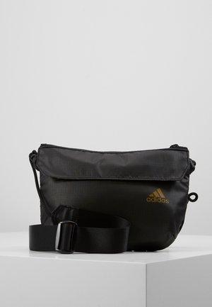 POUCH - Across body bag - black/black