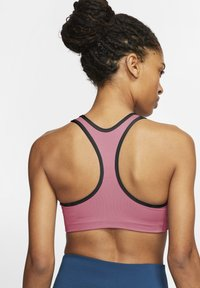 Nike Performance - BRA NON PAD - Sport BH - desert berry/black - 1