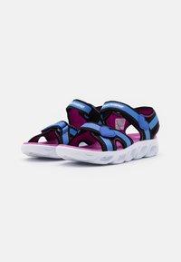 Skechers - HYPNO SPLASH - Walking sandals - blue/black/fuchsia - 1