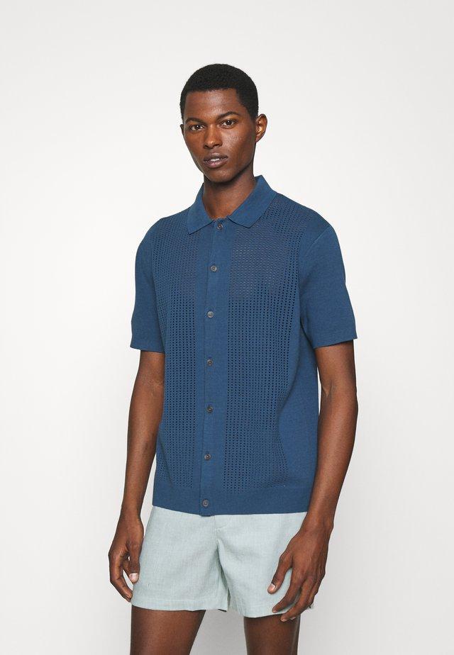 SWEATER SHRT - Shirt - blue