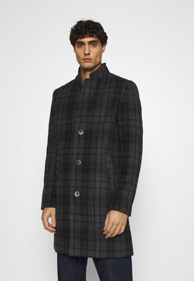 Classic coat - dark grey/black