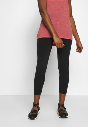 MOTION SEAMLESS 3Q - Leggings - black