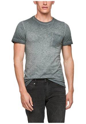 Print T-shirt - grey