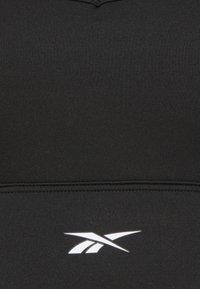 Reebok - TRI BACK BRA PAD - Reggiseno sportivo con sostegno leggero - black - 6