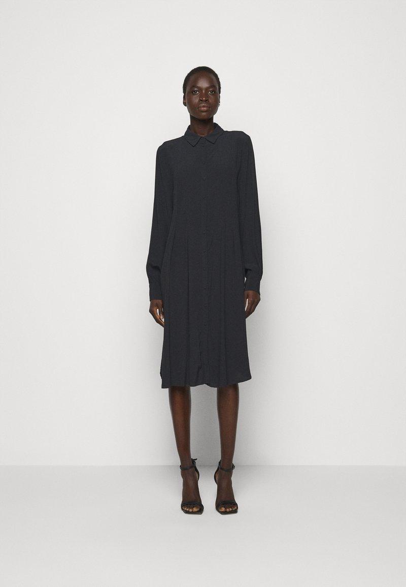 Bruuns Bazaar - LILLI VALENTINA  - Shirt dress - black