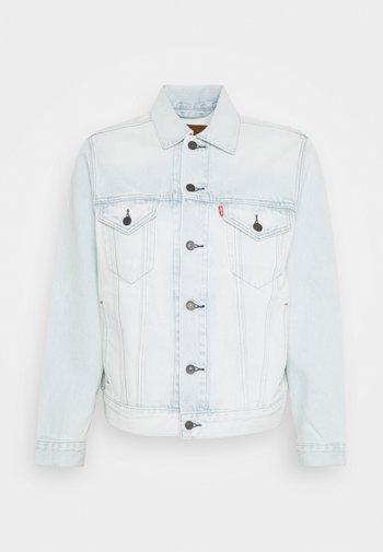 VINTAGE FIT TRUCKER UNISEX - Kurtka jeansowa - light indigo