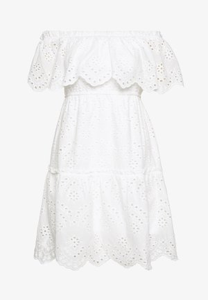 VISABELLA OFFSHOULDER DRESS - Robe d'été - snow white