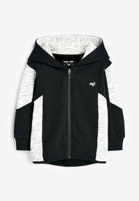 Next - Zip-up hoodie - black - 1