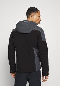 Icepeak - BENDON - Soft shell jacket - black - 2